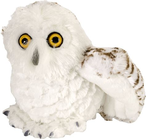 amazoncom snowy owl snowy owl mini cuddlekins stuffed animal by republic