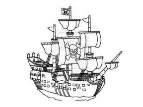 big pirate ship coloring pages kids print coloring pages