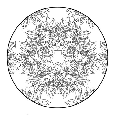mandala flower coloring pages difficult free difficult coloring pages for adults