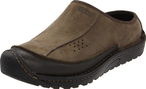 keen mens dillon clog shoe in green for black olive