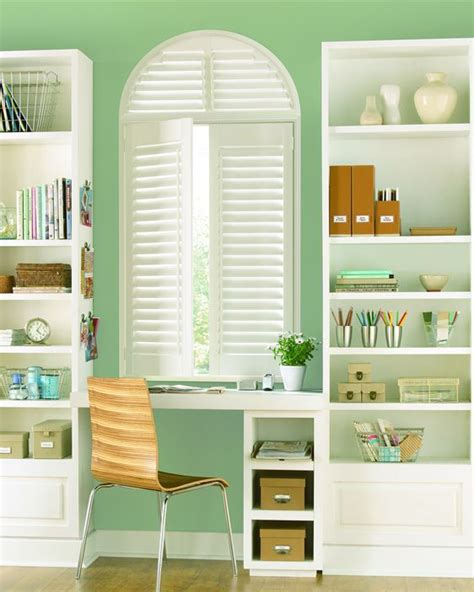 home office window treatments add a fresh feel to any home office palm beach polysatin