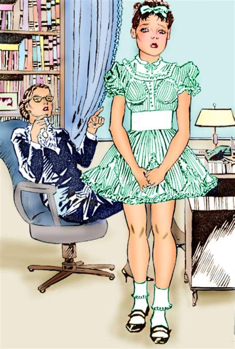 little boy becomes sissy girl art the headmistress has plans for timmy changing him from a