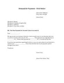 demand payment letter template best photos of non payment of invoices sle demand