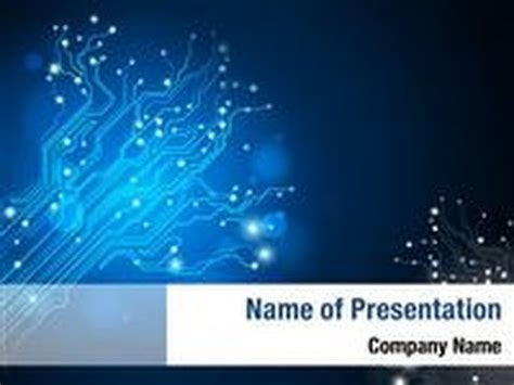 ppt templates free download electrical circuit board tree powerpoint template backgrounds