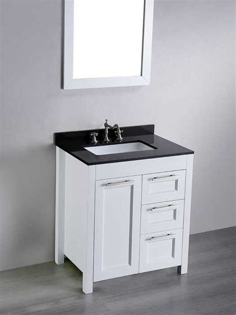 average depth of bathroom vanity what s the standard depth of a bathroom vanity