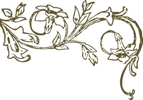 gold swirls clip art  clkercom vector clip art