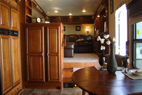 5th wheel with front living room front living room fifth wheel trailers myideasbedroom com