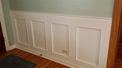 How To Create Wainscoting how to make a recessed wainscoting wall from scratch