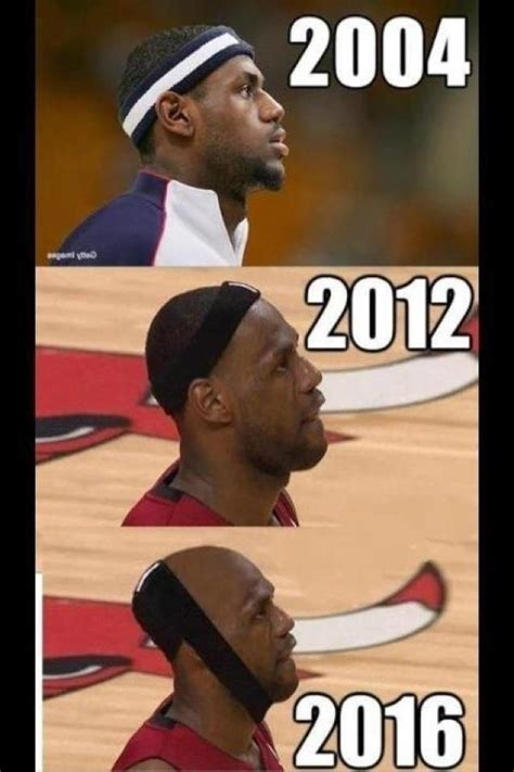Lebron Meme - lebron james shaved his head