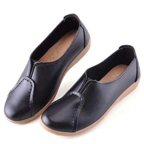 korean oxford shoes 2016 korean womens pu leather oxford shoes slip on
