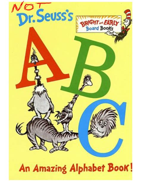 pictures for alphabet book beware board books or i owe dr seuss an xpology tom