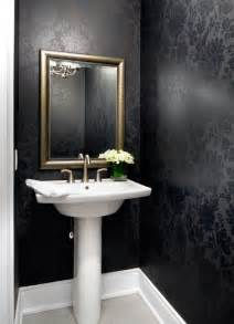 Powder Room Vanities Toronto Jane Lockhart Interior Design Transitional Powder Room