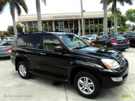 black lexus 2006 2006 lexus gx 470 in black onyx 125565 jax sports cars