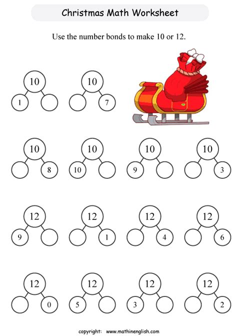 addition 187 addition christmas worksheets free math