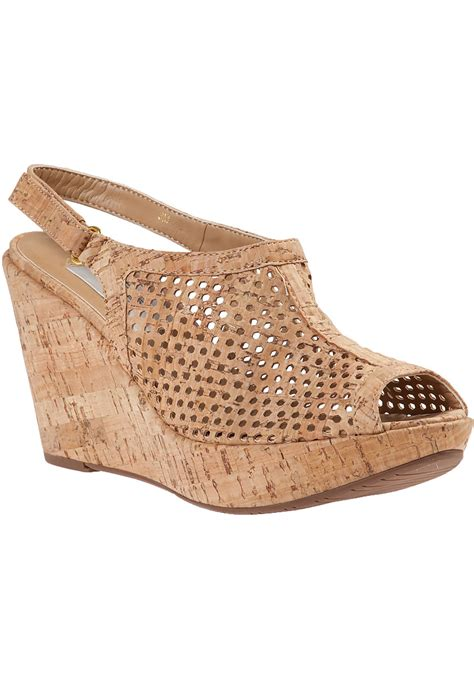 cork wedge sandal vaneli for jildor emmalee wedge sandal cork in