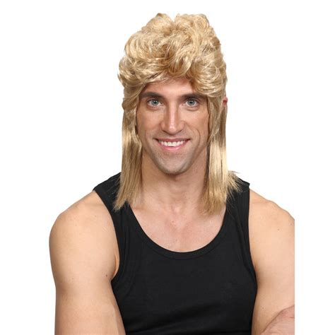 redneck hairstyle wicked costumes 1980 s mullet retro rocker hillbilly