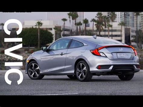 2017 honda civic coupe interior exterior and drive youtube