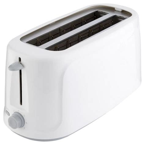 Best Basic Toaster Buy Tesco Basics Tb4t14 4 Slice Toaster From Our Toasters