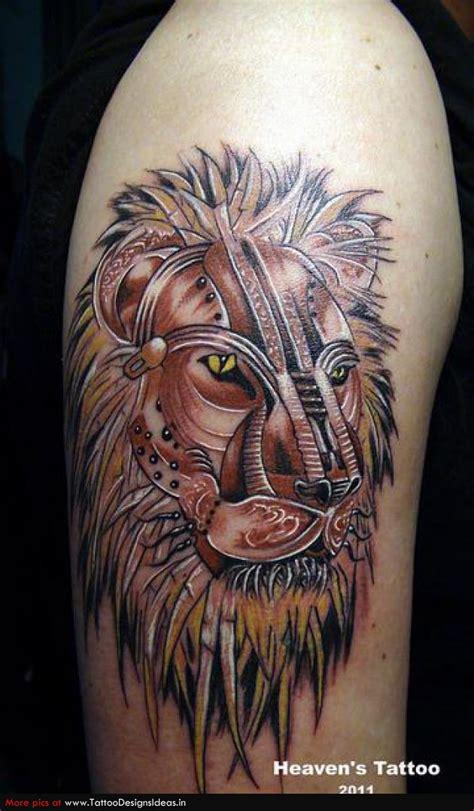 Biomechanical Lion Tattoo | animal tattoos and designs page 159