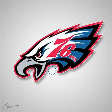 creative philadelphia eagles logos bleeding green nation