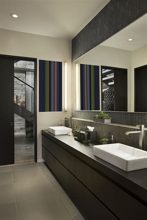 contemporary bathroom design guest bathroom ideas with pleasant atmosphere traba homes