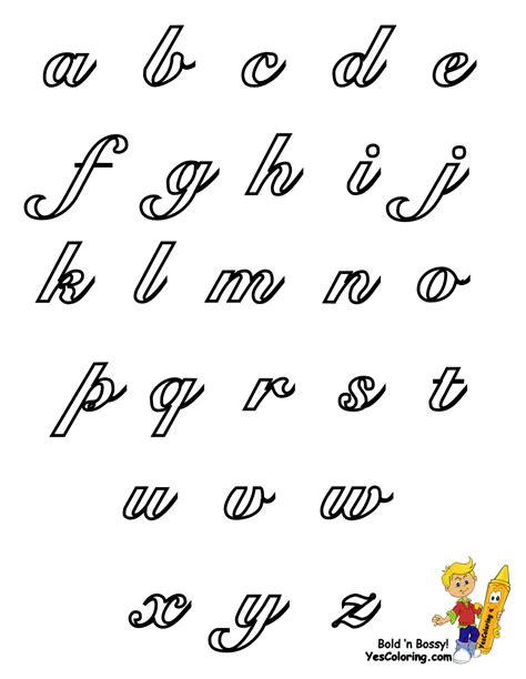 printable alphabet letters in script script alphabet for kids worksheets releaseboard free