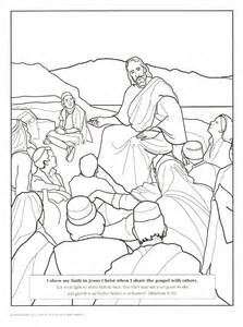 Jesus Disciples Colouring Pages sketch template