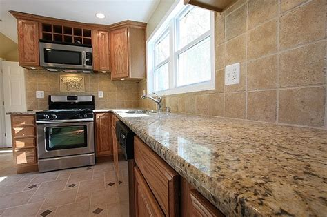 what color granite goes with honey oak cabinets 67 best images about kitchen on oak cabinets
