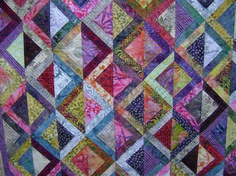Scrap Patchwork - batik scrap quilt patchwork batik quilts
