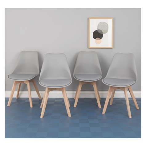 gray dining chairs set of 4 jerry set of 4 grey dining chairs buy now at habitat uk