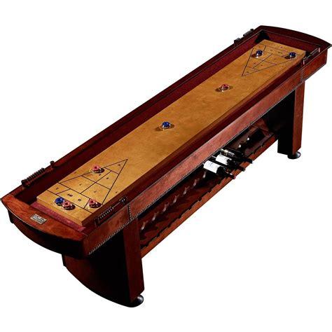 9 ft shuffleboard table shuffleboard table wood 9 ft wine rack storage