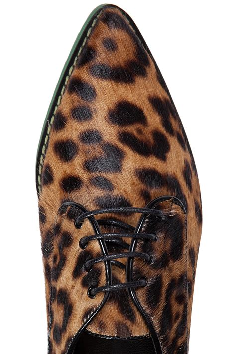 Just Cavalli Lace Giraffe Print Hobo by Just Cavalli Animal Print Lace Up Shoes Brown 365ist