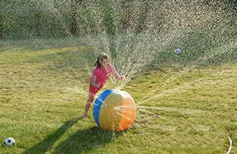 backyard water play zjkc sprinkler water ball thicken eco friendly pvc