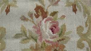 chinese needlepoint rugs floral aubusson needlepoint rug