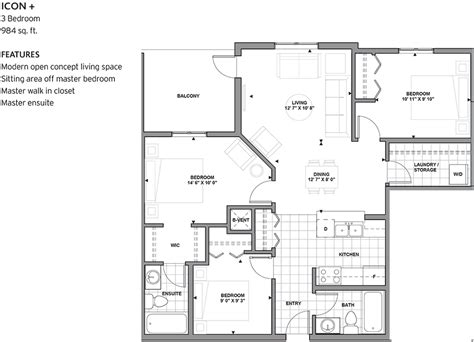 Icon Floor Plans Floorplans And Location Rutherford Landing
