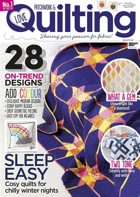 Patchwork And Quilting Magazine Back Issues - patchwork quilting magazine issue 55