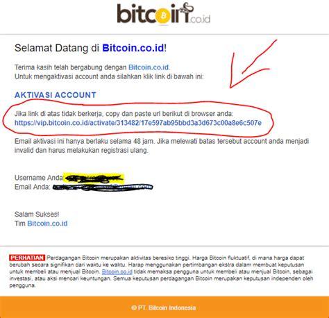 bitcoin login indonesia cara membuat akun wallet vip bitcoin indonesia dan