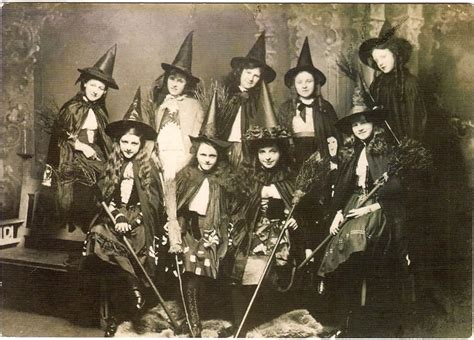 Old Photos of Women in Witch Costumes, circa 1800s ~ vintage everyday