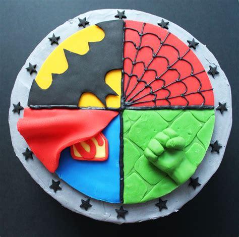 25 best ideas about superhero cake on pinterest