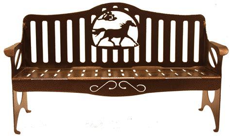 art horse bench horse bench