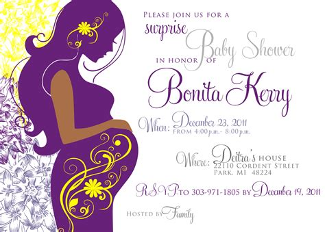 purple baby shower invitation templates personalized baby shower labels for favors stuff to buy
