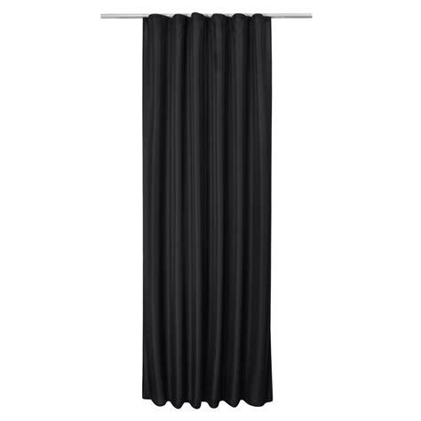vorhang schwarz universalband vorhang amelie 140x175cm schwarz