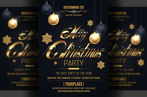 layout for christmas party classy christmas flyer template flyer templates