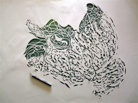 Best Paper For Stencils - papercut portraits