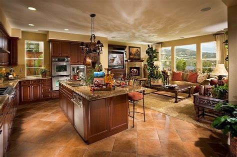 open floor plan kitchen ideas creative plans for the open concept kitchen decor around