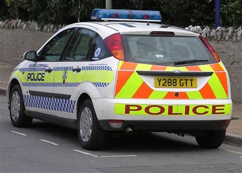 british police cars