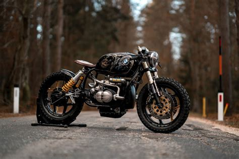 hell kustom bmw   nct motorcycles
