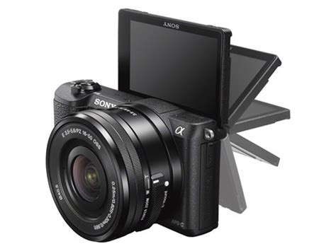 sony's a5100 compact system cam promises advanced video