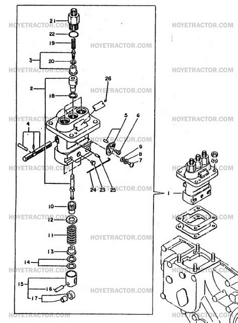 Injection Pump Yanmar Tractor Parts
