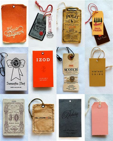 clothing hang tags packaging ideas